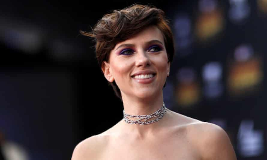 Scarlett Johansson in April 2018.