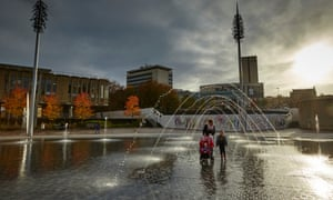 'Britain's Detroit' … City Park in Bradford.