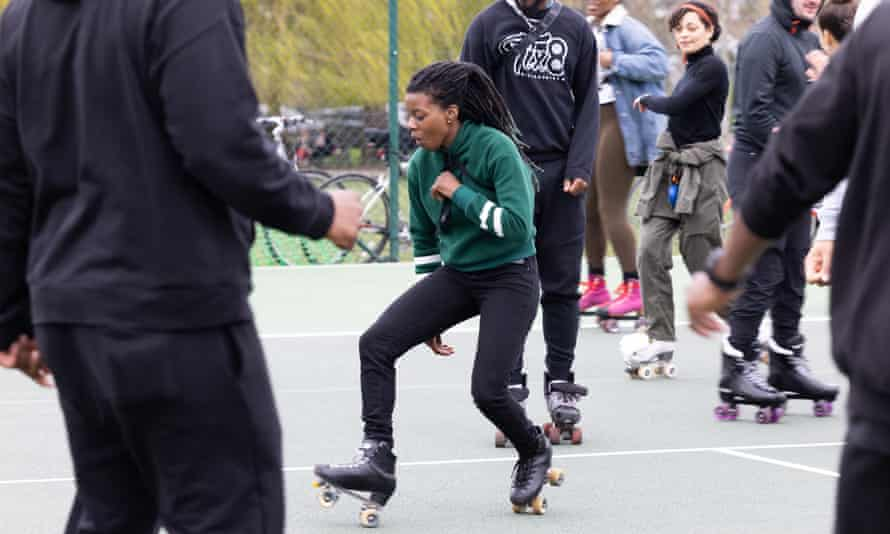 In Clissold Park, roller skating is more popular than ever