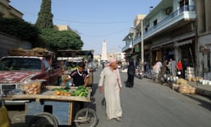 Raqqa, Syria, the de facto capital of Isis, pictured in September 2015.