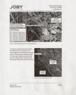 Joby's FAA application.