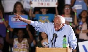 Bernie Sanders will not 'become a hitman', an adviser says.