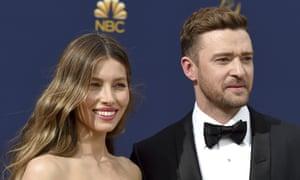 Justin Timberlake and Jessica Biel, in 2018.