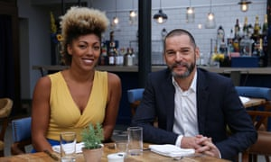 Dr Zoe Williams and Fred Sirieix