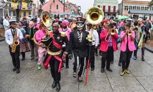 Krewe du Kanaval in New Orleans.