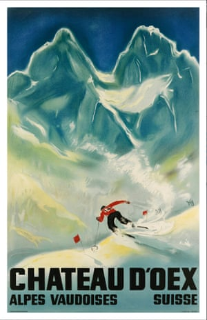 Chateau D'Oex. 1933. By Alex Walter Diggelmann (1902-1987)