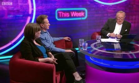 Andrew Neil hosting This Week