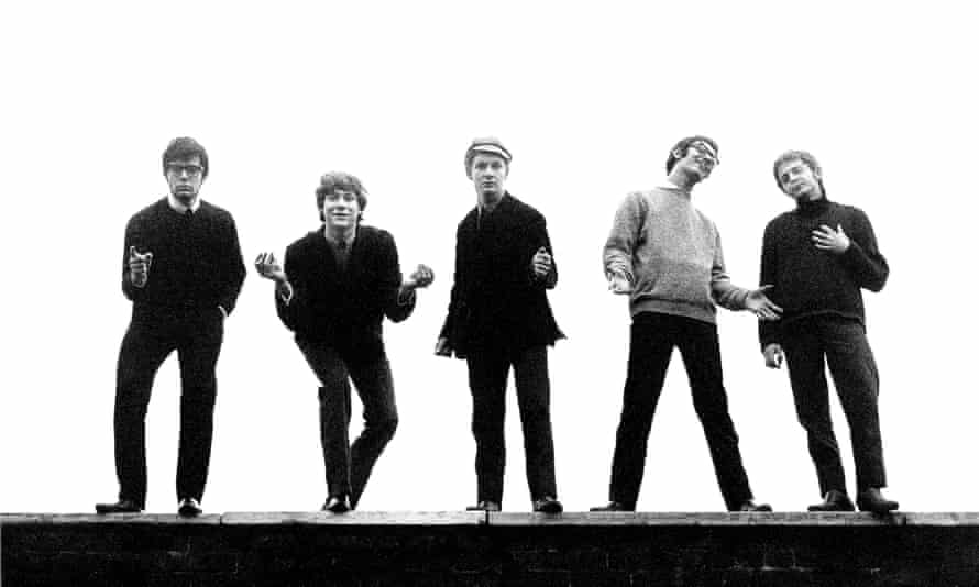From left: Manfred Mann, Paul Jones, Mike Vickers, Tom McGuinness and Mike Hugg.