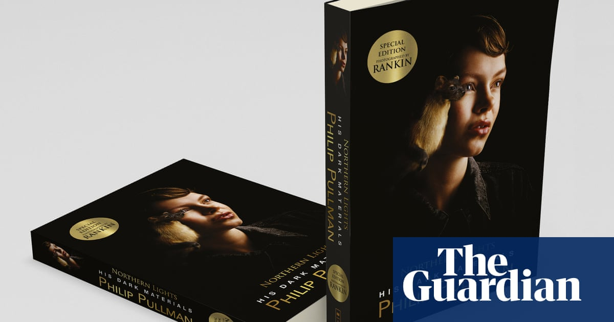 Rankin designs covers for Philip Pullman's His Dark Materials trilogy