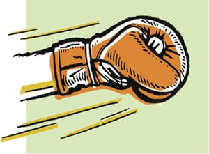 illustration of a Boxing Punch