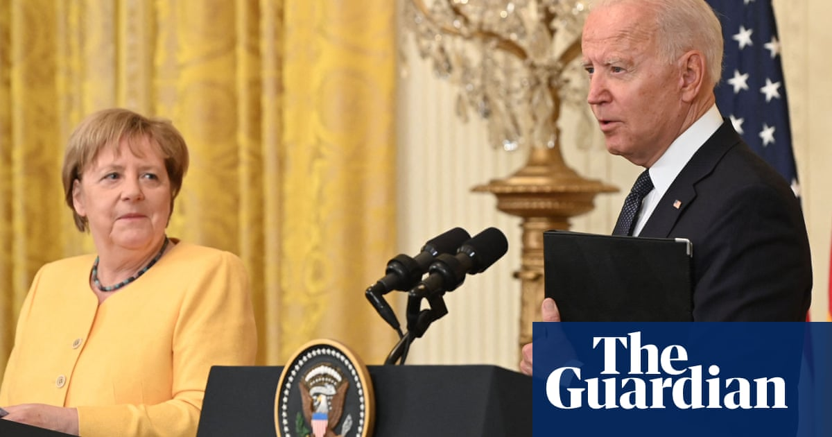 Biden and Merkel vow to defend against Russian aggression in White House meeting