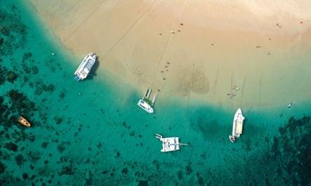 Ningaloo Reef Marine Park, Western Australia.