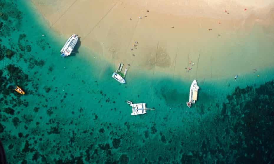 Ningaloo Reef Marine Park is a popular tourist spot in Western Australia.