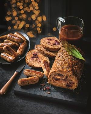 M&S festive roast