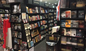 Chapters Bookstore interior with fantasy books