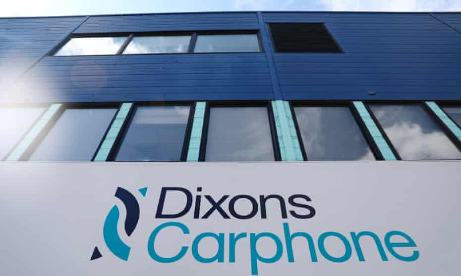 Dixons Carphone headquarters in London