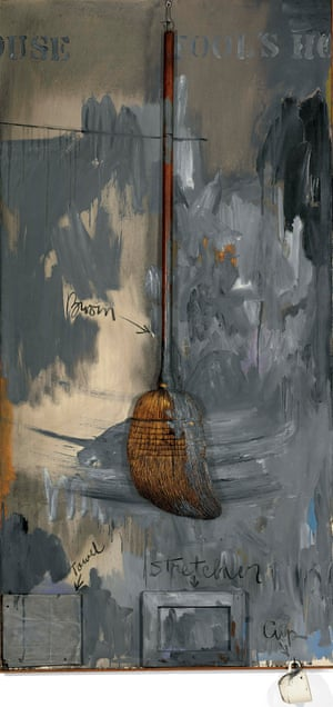 Fool's House, 1961–62, by Jasper Johns.