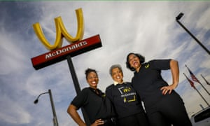 McDonald's turned their M into a W on International Women's Day.