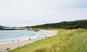 Irish Caribbean … Derrynane beach on the Ring of Kerry, Ireland.