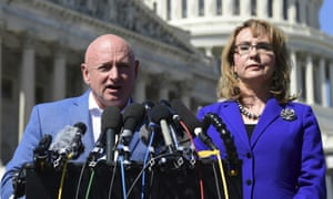 Kelly and Giffords in 2017. The seat is a top target for Democrats because McSally just lost a Senate race and Democrats posted a strong showing elsewhere in Arizona.