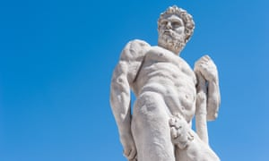 Statue of Hercules.