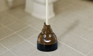 'A crappy product that really works' … select Oscar nominees are to receive a glow-in-the-dark Mister Poop emoji plunger.