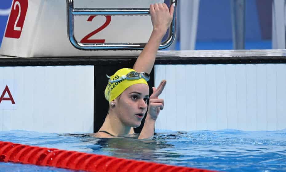 Australia's Kaylee McKeown