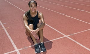 Katarina Johnson-Thompson admits the more outdoors-orientated lifestyle of her French peers is different to the one she was used to in England.