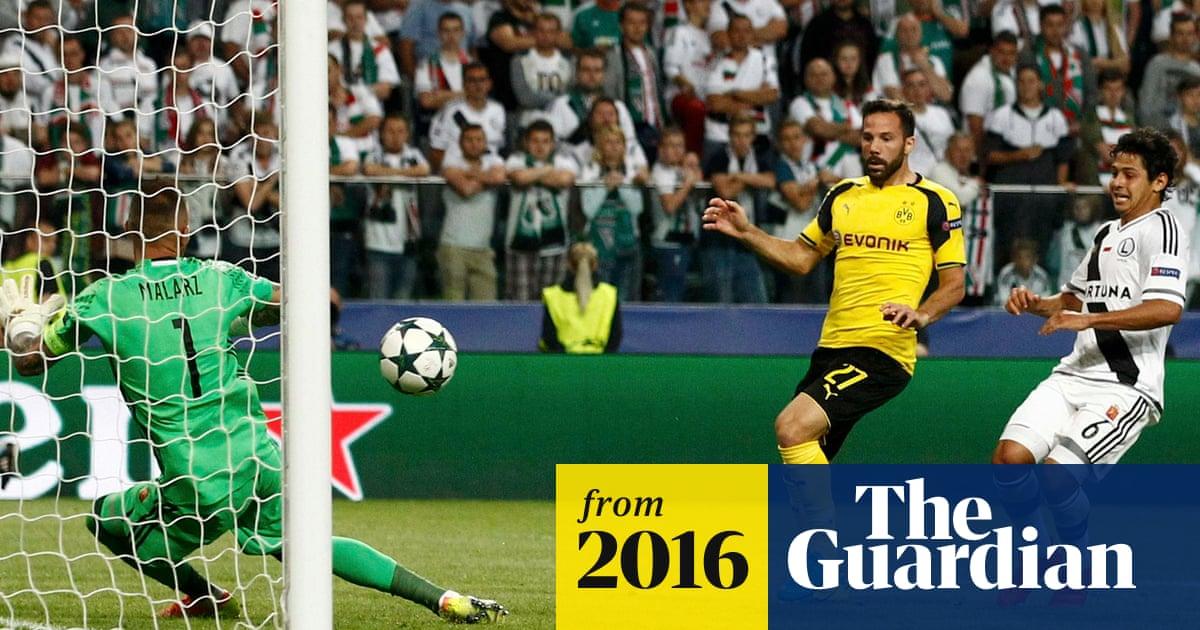 Champions League round-up: Borussia Dortmund hit Legia Warsaw for