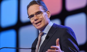 BHP chief executive Andrew Mackenzie says carbon pricing is not enough to combat the looming threat of mass extinctions and major sea rises