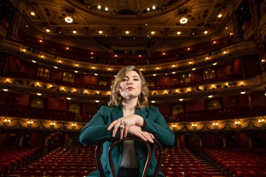 Natalya Romaniw at the Coliseum, London, home of English National Opera.