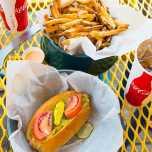 Maui's Dog House,gourmet hot dogs and fries