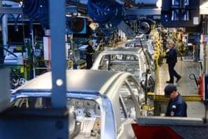 Vauxhall plant in Ellesmere Port, UK