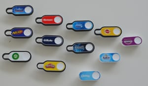 Harvesting data … Amazon Dash buttons.