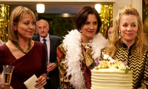 Goodbye barristers in wigs … the sisters in The Split, from left, Nicola Walker, Annabel Scholey and Fiona Button.