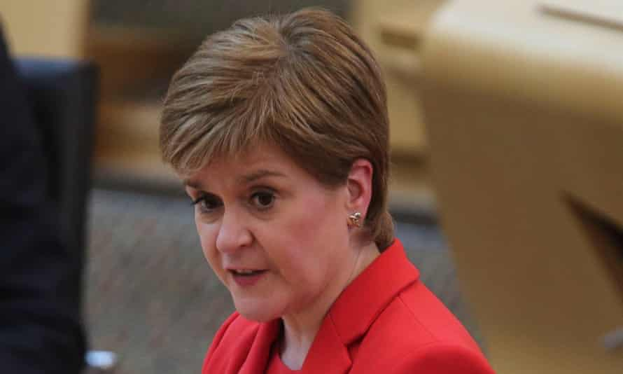 Nicola Sturgeon delivers the first minister's statement on Scottish government priorities