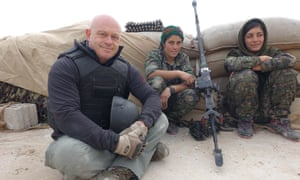 Ready and willing ... Ross Kemp: The Fight Against Isis.