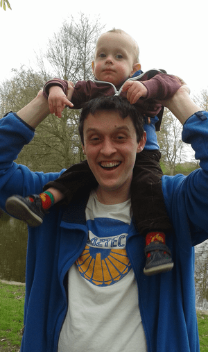 Dan White and his son.