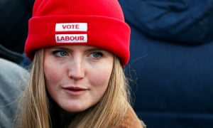 Labour supporter in Middlesbrough