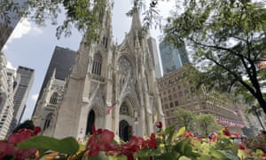St Patrick's Cathedral in Manhattan