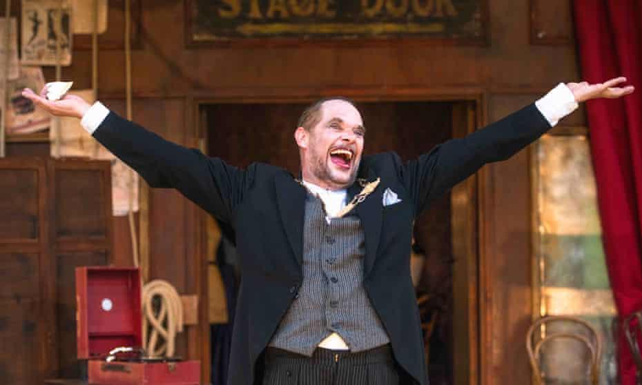 Alan Steele as Malvolio