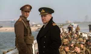 James D'Arcy, left, and Kenneth Branagh in a scene from the 2017 film Dunkirk.