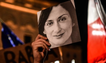 Daphne Caruana Galizia was killed in a car bomb explosion in 2017.