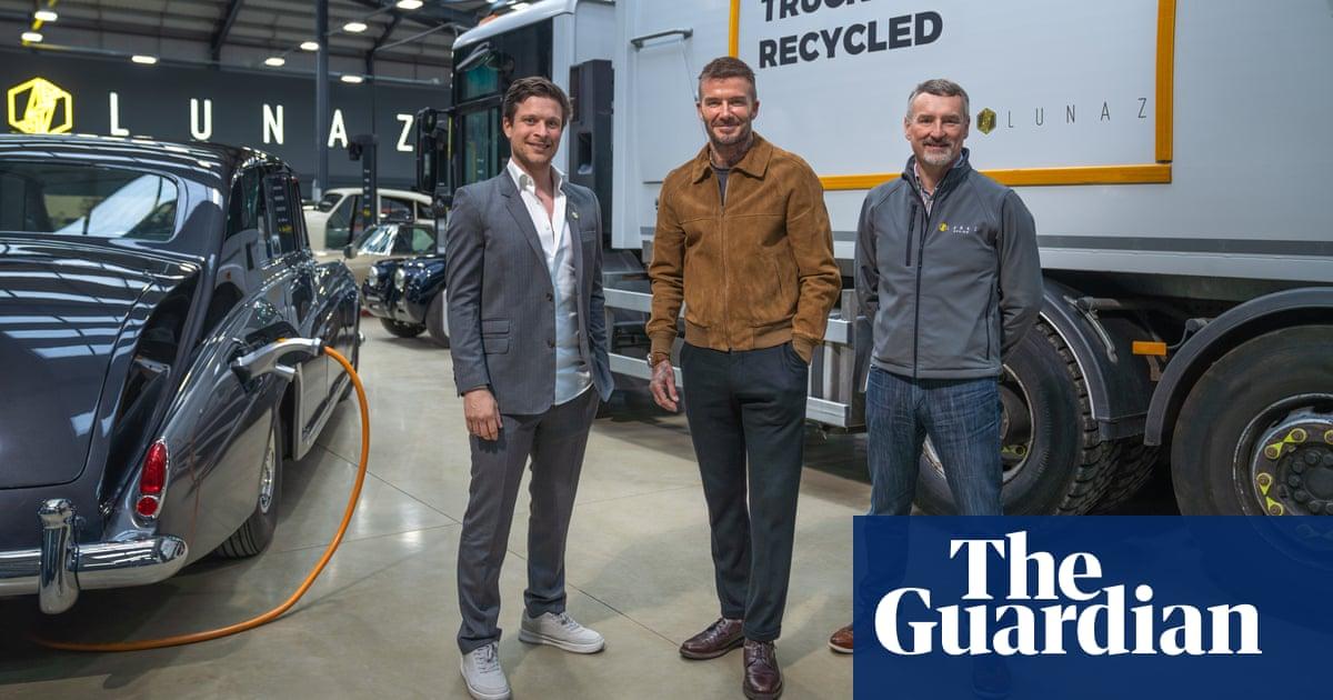 David Beckham buys stake in vehicle electrification firm