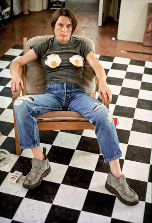 Sarah Lucas Self-portrait with Fried Eggs, 1996 C-print. Credit: © Sarah Lucas, courtesy Sadie Coles HQ, London