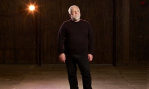 Simon Russell Beale at the Royal Shakespeare theatre in Stratford-upon-Avon, where he is starring in The Tempest.