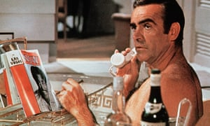 Sean Connery as James Bond in Diamonds Are Forever (1971)