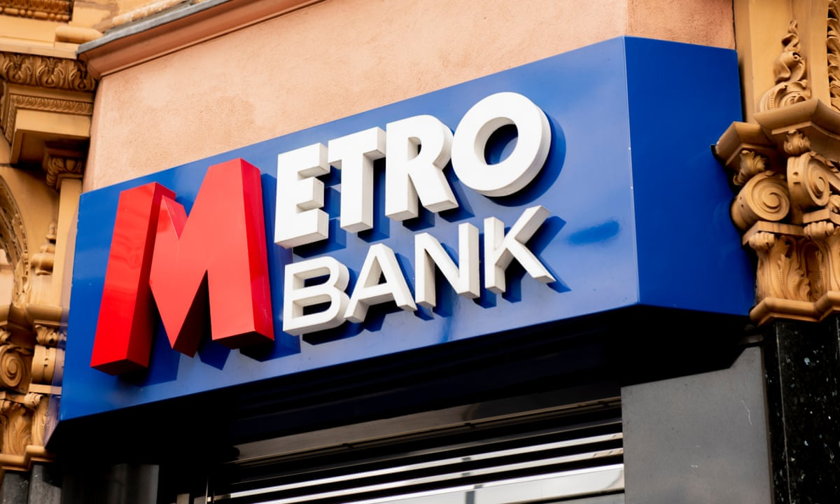 Metro Bank shares slide as fraud investigations launched