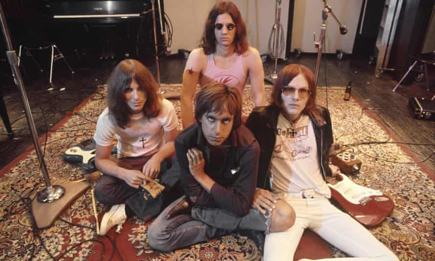 Lightning-in-a-bottle brilliance … the Stooges during the recording of Fun House, May 23, 1970.