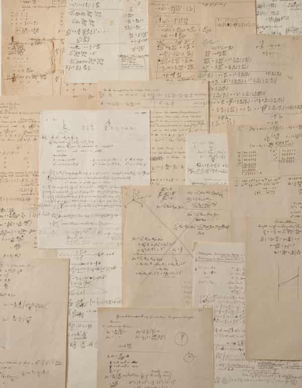 Pages of Einstein's calculations will go on auction in November.